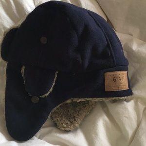 5 for $35.  GAP blue fleece bomber hat.